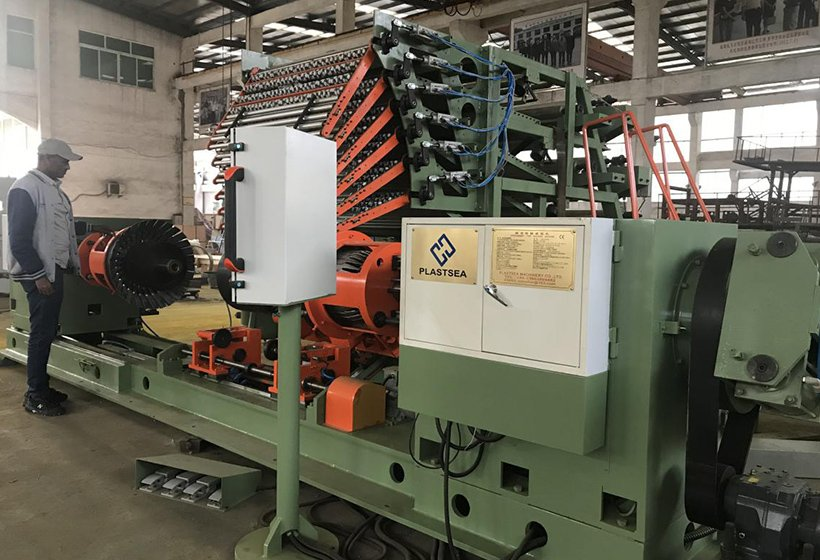 Dry inspection of tire building machine