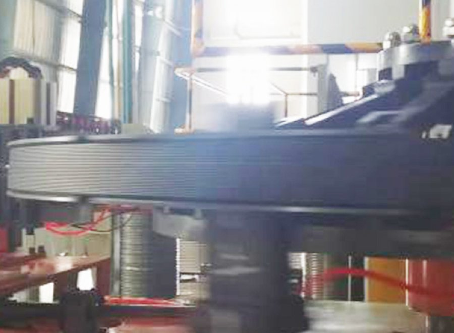 Hexagonal Bead Extruding &Winding Line for huge OTR tire (One Bead)