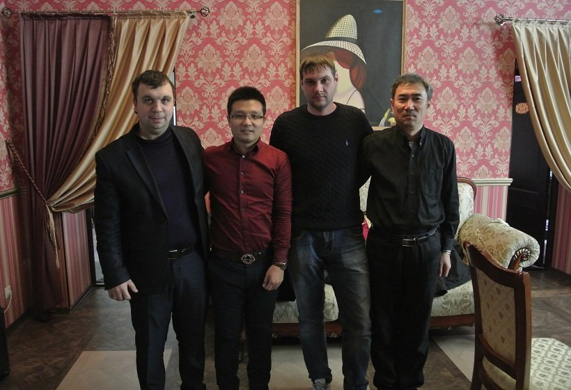 Visit Russian customer after machinery supplied